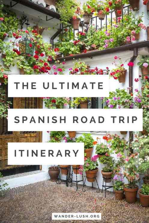Self drive Spain itinerary. Ultimate guide itinerary for a 3-week road trip in Spain