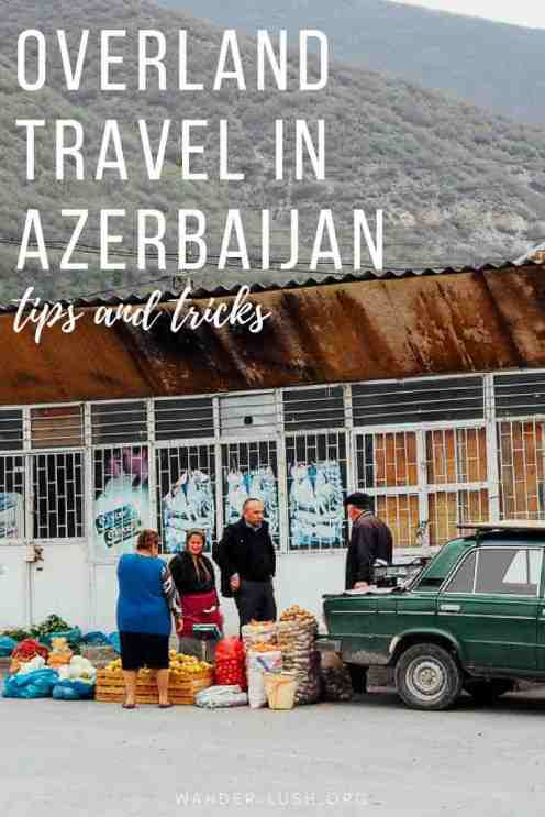 Marshrutka minivans are an easy and affordable form of transport in Azerbaijan. Here's everything you need to know about travelling by public bus in Azerbaijan — including the Baku to Tbilisi bus, Baku to Sheki, and other popular routes.