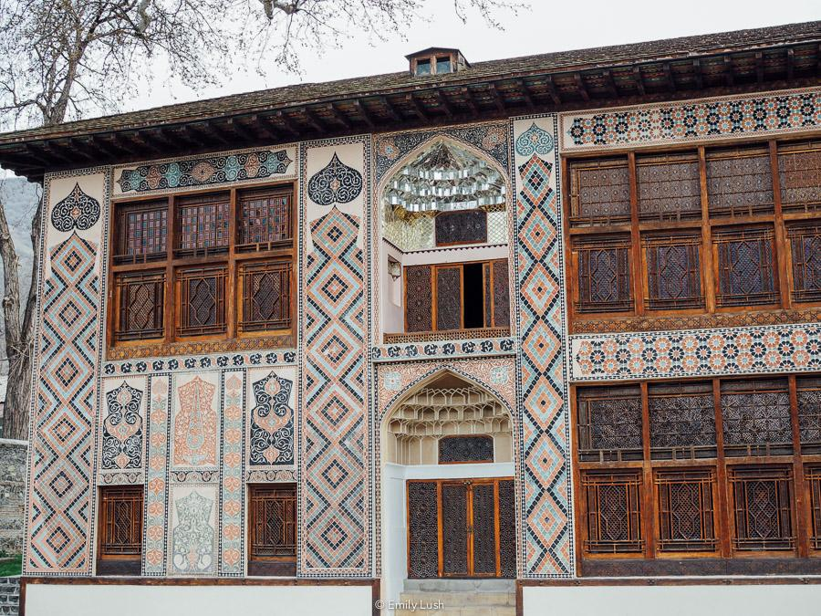 For a town of its size, Sheki Azerbaijan has a lot to offer visitors. Once a stop on the fabled Silk Road, Sheki has a wonderful character plus many historical and Soviet-era points of interest. From painted palaces to decadent desserts, hip bars to handicrafts, here are the 8 things I loved most about Sheki!