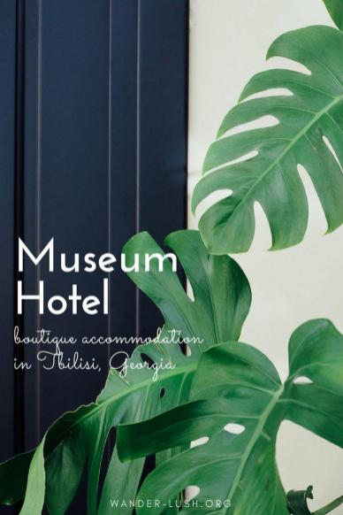 Museum Hotel Orbeliani, a boutique hotel for design lovers in the heart of old Tbilisi.