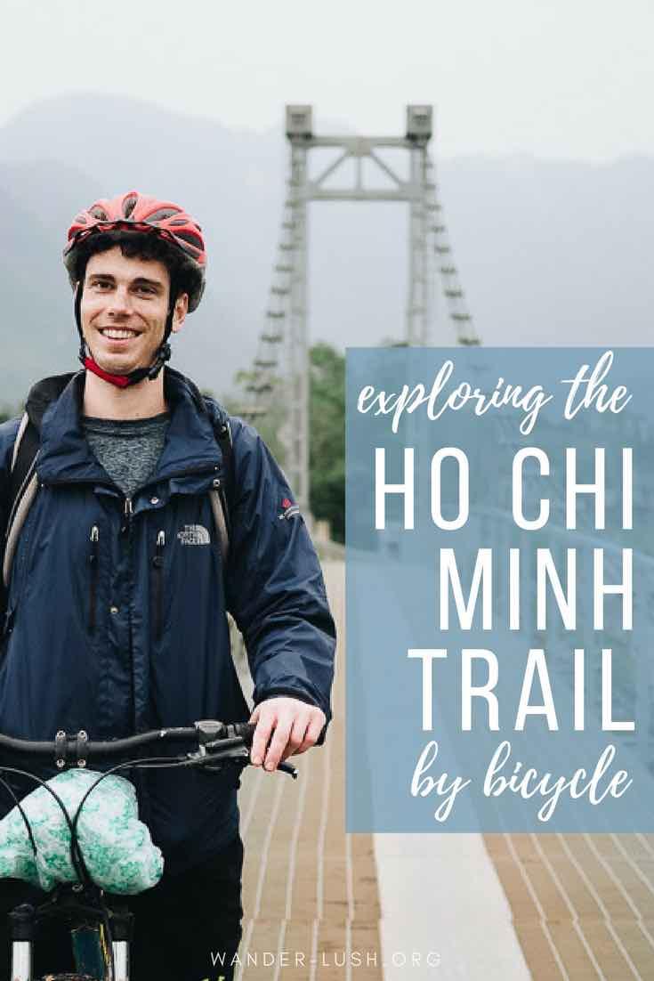 An epic travel adventure in Vietnam: Bike ride on the Ho Chi Minh Trail in Phong Nha Ke Bang National Park, Phong Nha Vietnam