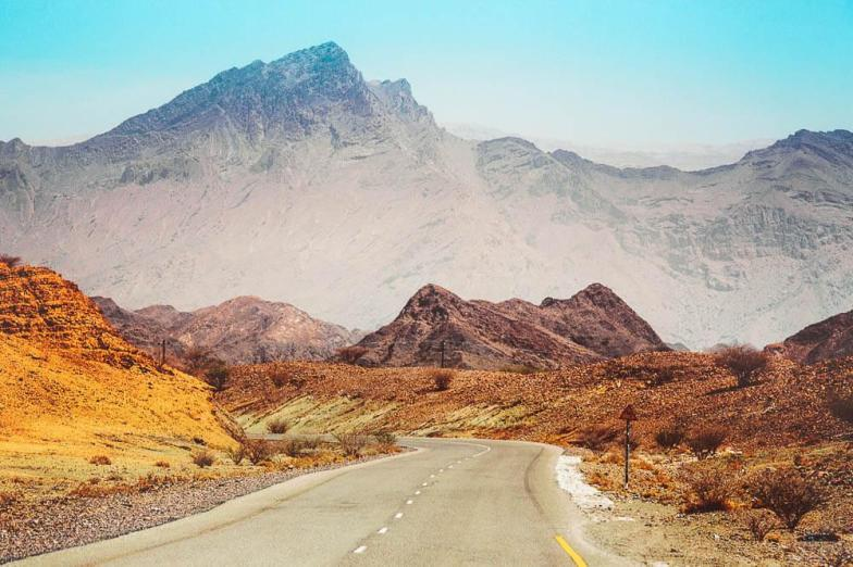 On the road in Oman | Oman road trip