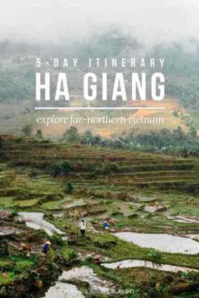 Rice terraces, trekking, homestays, ethnic minority markets—Ha Giang in far northern Vietnam has it all (minus the crowds of Sapa). If you want to travel to Ha Giang but you don't ride a motorbike, a private tour is a great alternative. This post covers our 5-day Ha Giang tour itinerary, plus a review of YESD Vietnam, a responsible Ha Giang tourism company.
