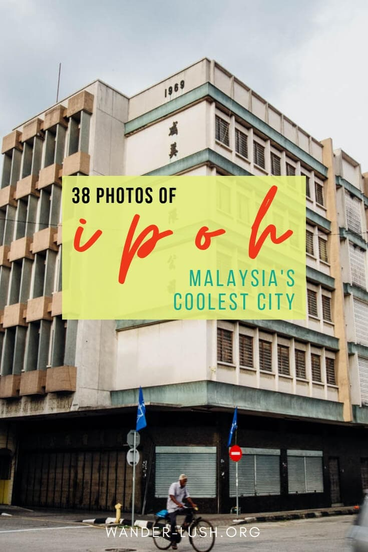 Ipoh might just be Malaysia's best-kept secret. A street photographer's dream just 3 hours' north of Kuala Lumpur, Ipoh's retro style will steal your heart. #Malaysia #Ipoh #streetphotography
