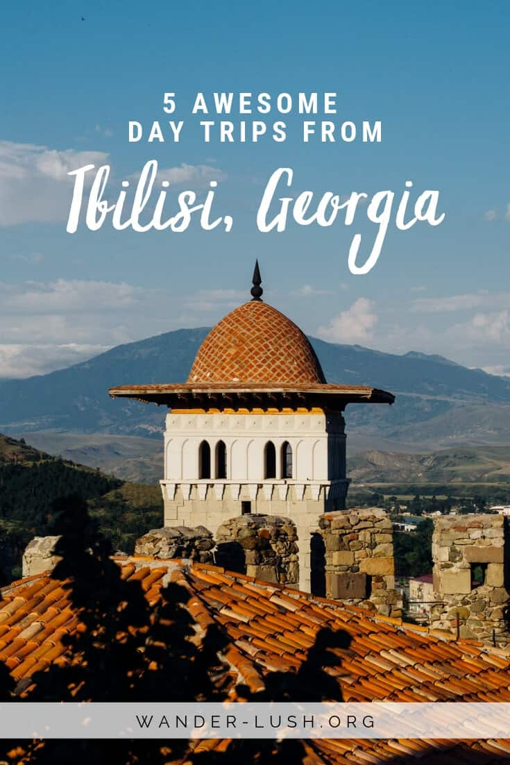 Looking for the very best day trips from Tbilisi, Georgia? This guide features the best independent and organised Tbilisi day trips for every interest – from hiking and cycling to cave monasteries, castles, wine tastings, and much more.