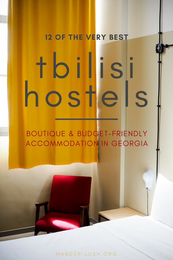 Looking for beautiful, boutique accommodation in Tbilisi, Georgia that wont break the bank? These 12 hostels in Tbilisi promise low prices without compromising on style, comfort or hospitality.