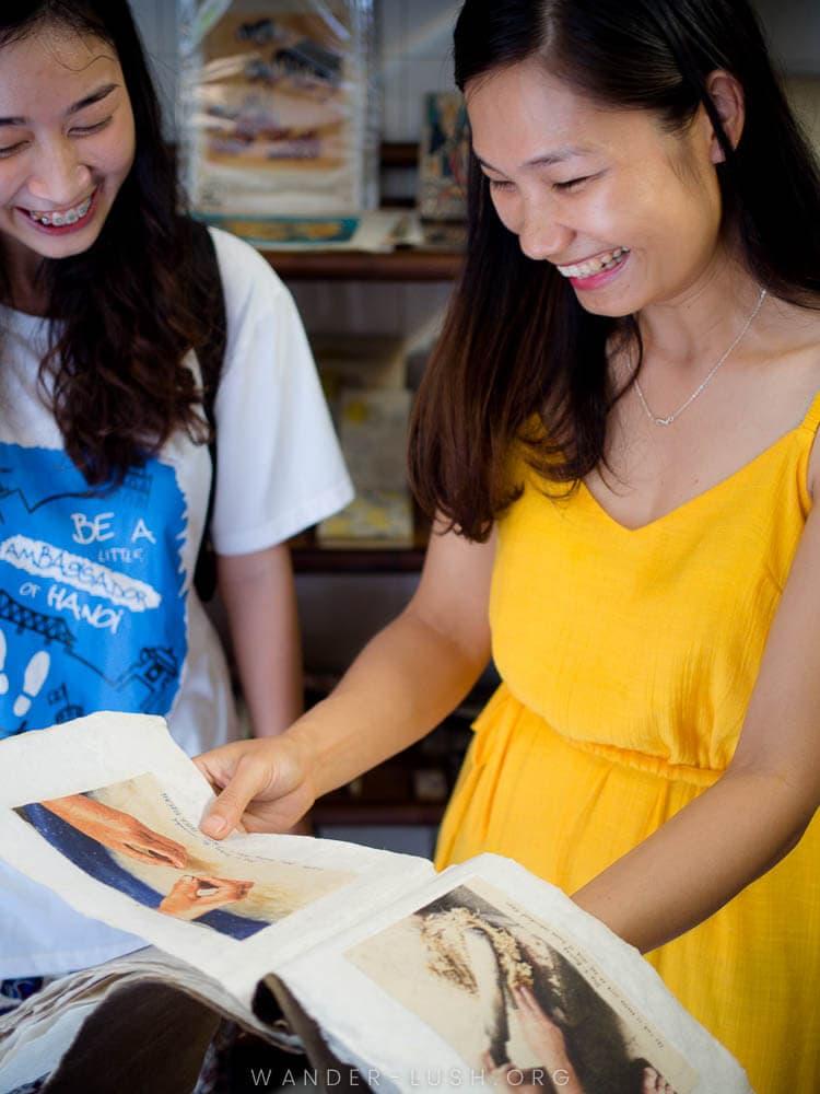 Discovering the best social enterprises in Hanoi with Impact Travel—plus a bumper list of social enterprises you can visit in Vietnam!