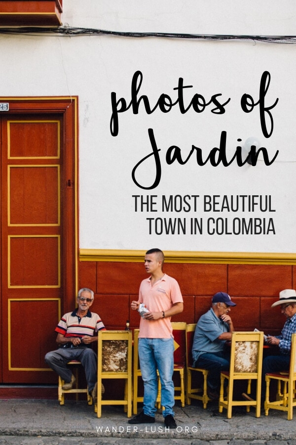 There's a reason why Jardin is known as Colombia's most beautiful town. Here are 44 colourful photos of Jardin Colombia to inspire you to visit.