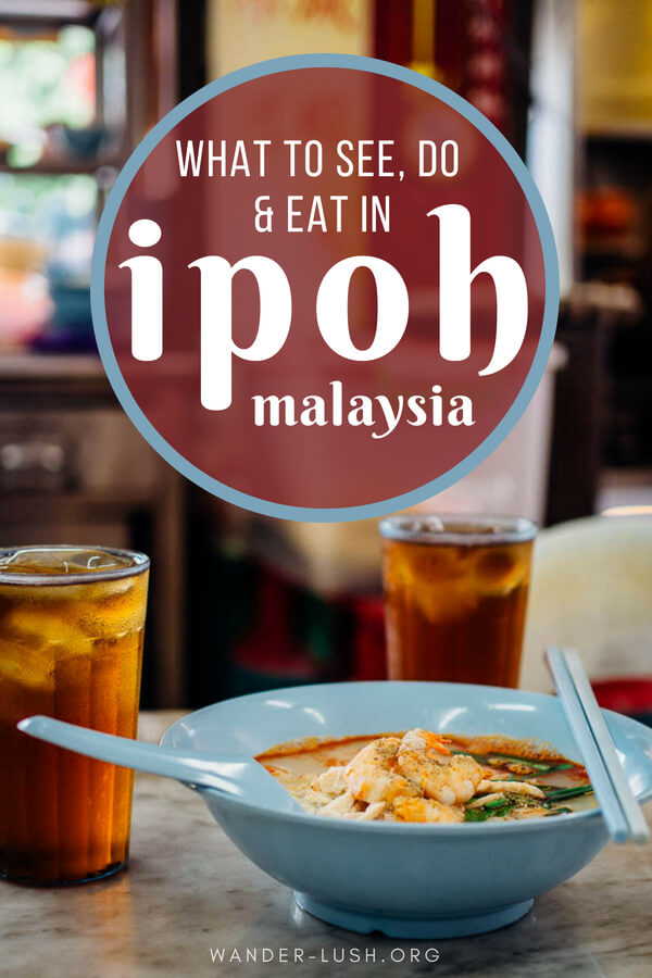 Welcome to Ipoh, my favourite city in Malaysia! This Ipoh 3 days 2 nights itinerary covers Ipoh's best attractions, street art, architecture and hawker food—plus tips on accommodation and how to travel from Kuala Lumpur to Ipoh.