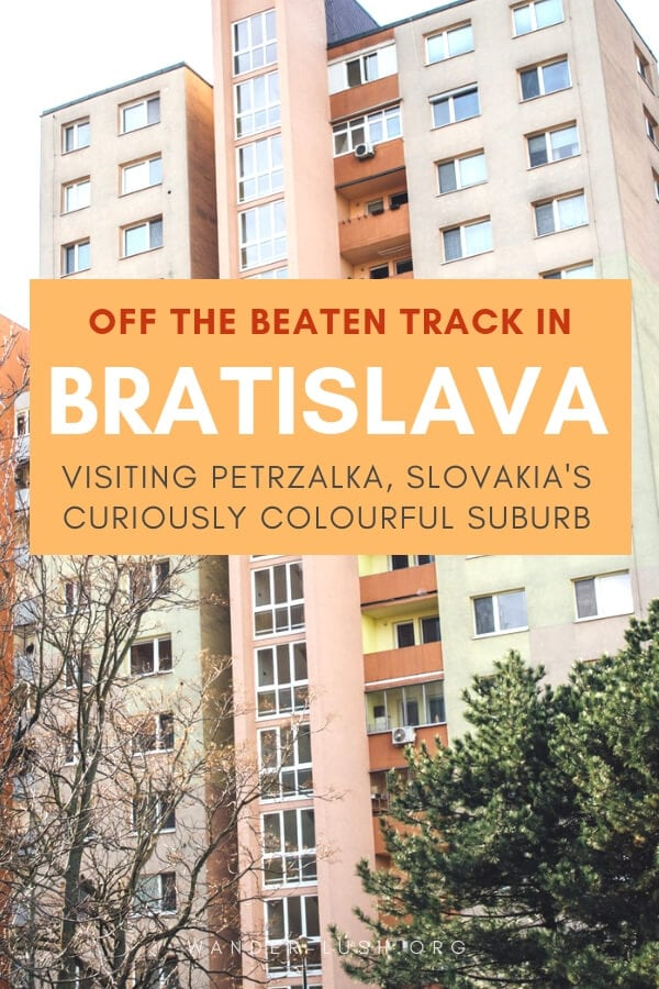 A wander through the colourful and historic borough of Petrzalka is one of the more unusual things to do in Bratislava, Slovakia. Here are my photos and tips for visiting.