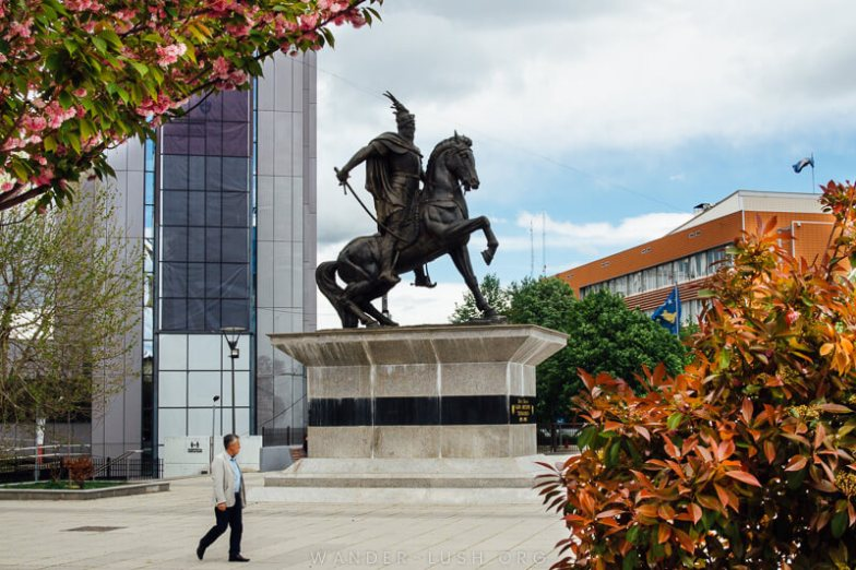 Skanderbeg Square | Things to do in Prishtina city, Kosovo—including the best cultural attractions, designer cafes and architecture. Use this guide to plan your Kosovo travel!