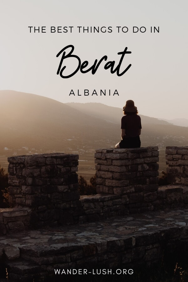 The very best things to do in Berat Albania, including Berat Castle and Berat day trip – plus info on how to travel from Tirana to Berat by bus.