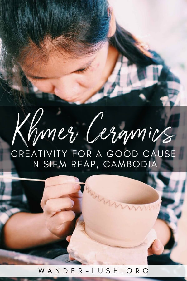What to expect when you visit the Khmer Ceramics Centre for a pottery class in Siem Reap. Support a social enterprise with this alternative activity!