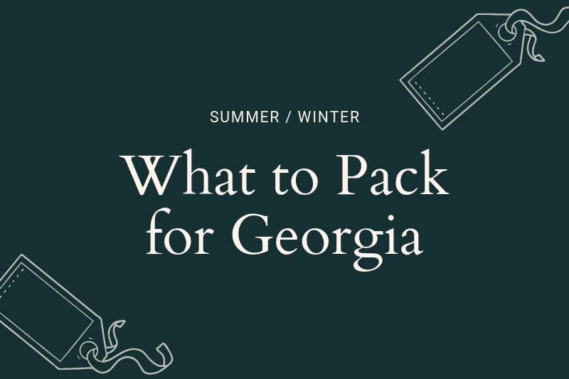 Georgio Design Bank.Georgia Packing List What To Wear In Georgia Caucasus