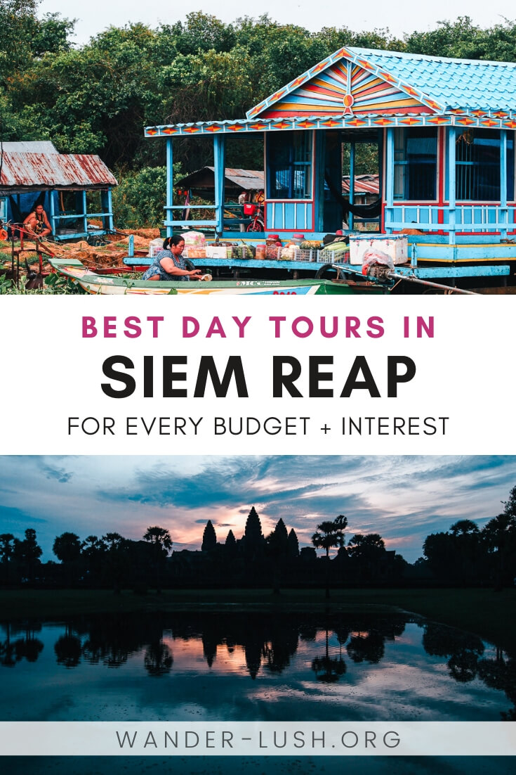 This guide to the best Siem Reap tours includes temple tours, food tours, culture and DIY tours, alternative tours, and many more.