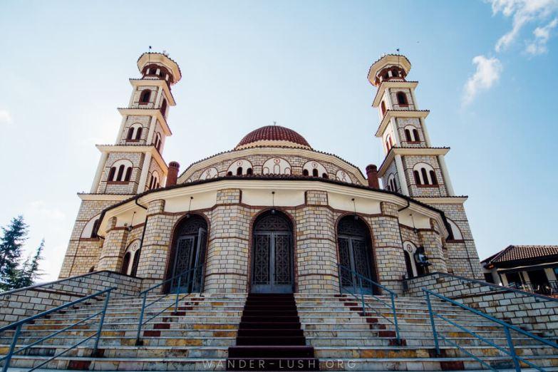 A large church.