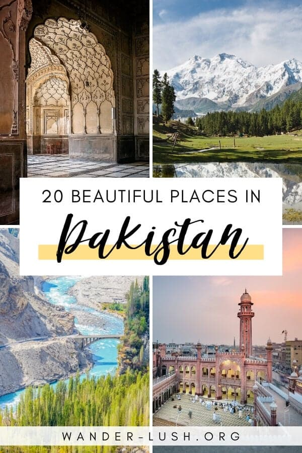 It's hard to imagine a more magnificent landscape than the rugged peaks, hidden villages and wind-swept plains of Pakistan. Here are 20 of the most beautiful places in Pakistan, from wild mountain passes and unreal lakes, to ornate mosques and ancient fortresses.