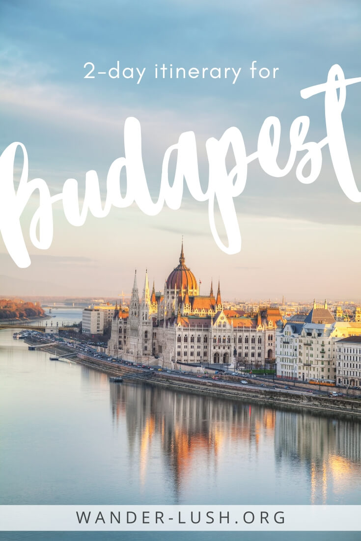 The perfect 2 days in Budapest itinerary for first-time visitors to Hungary. Includes the best things to do in Budapest and the best Budapest restaurants.