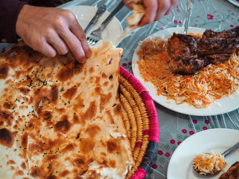 Traditional Qatari food.