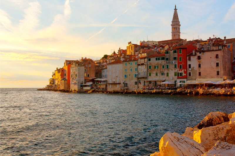 8 beautiful places in Istria on Croatia's Adriatic coastline – from fishing villages to ancient Roman ruins, clear water bays to olive groves.