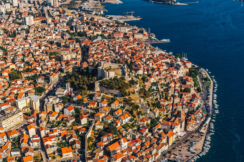 The perfect itinerary for spending 2 days in Sibenik on Croatia's Dalmatian Coast. Includes a day trip from Sibenik to Krka Waterfalls.