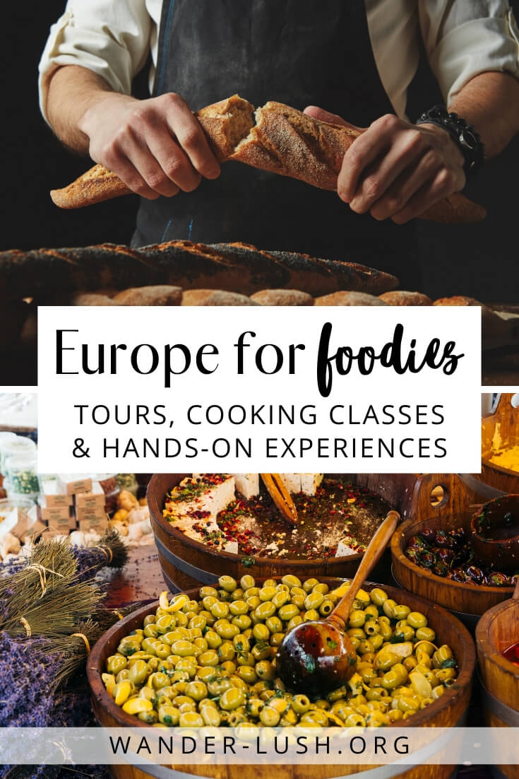 From the best food tours in Europe to cooking classes, workshops and masterclasses, here are 20 of the very best food experiences in Europe.