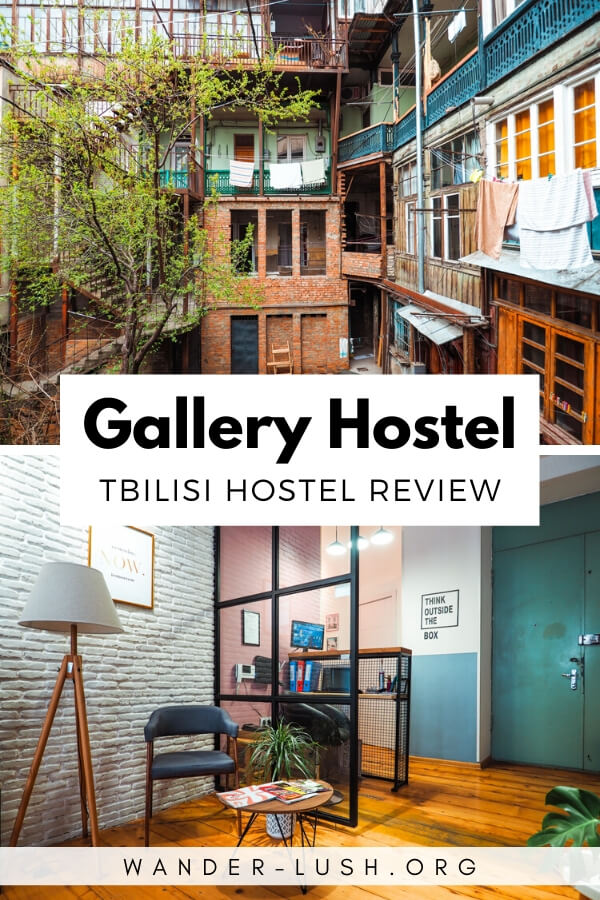 My review of Gallery Hostel, boutique accommodation near Rustaveli Avenue and the Dry Bridge Market in the centre of Tbilisi.