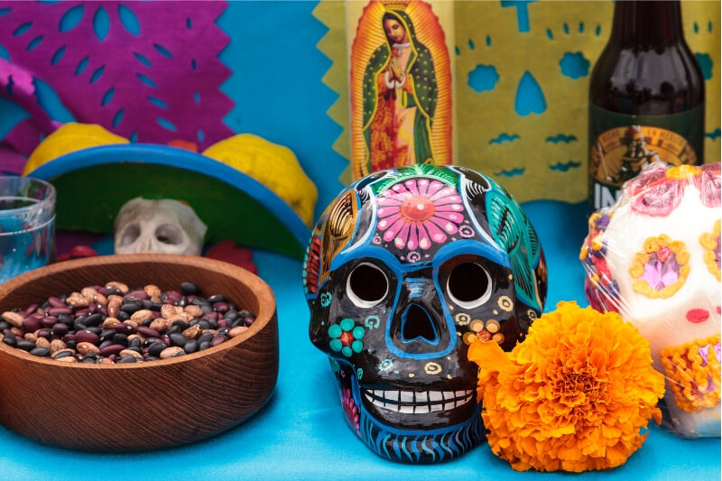 A traditional offering for Day of the Dead.