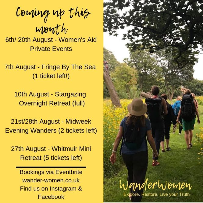 WanderWomen in August 2019
