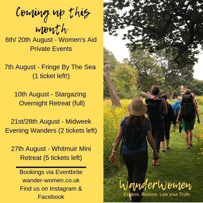 WanderWomen in August 2019
