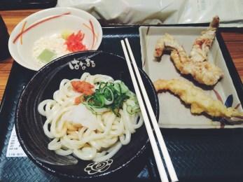 Yoshinoya meal - all seafood