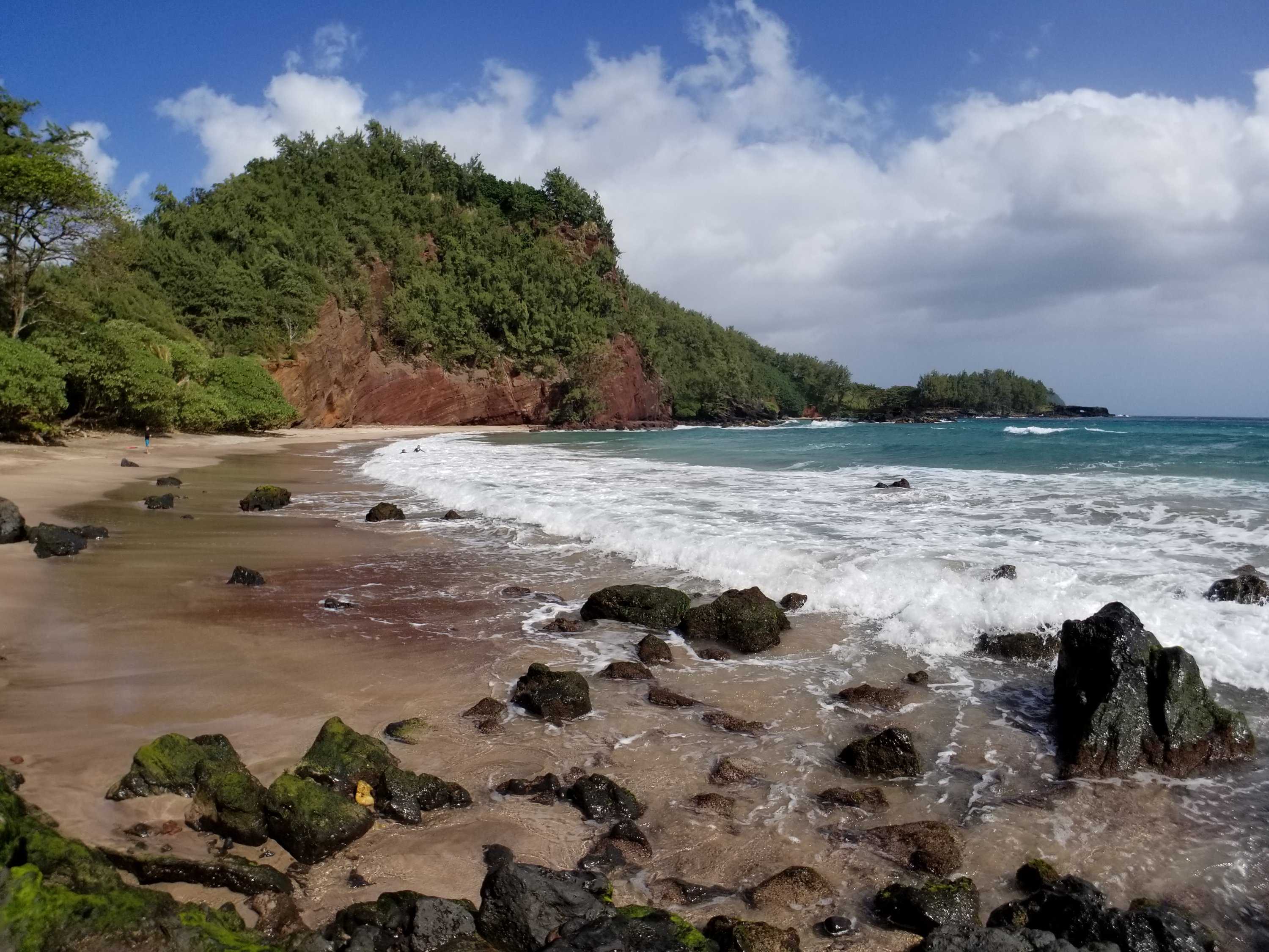 Hawaiian Red Sand Beach