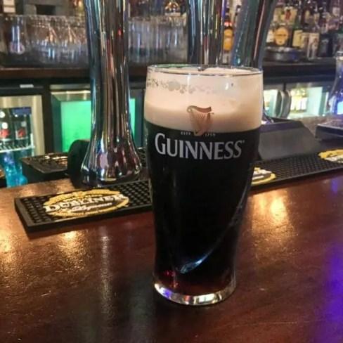 guinness beer one day in dublin