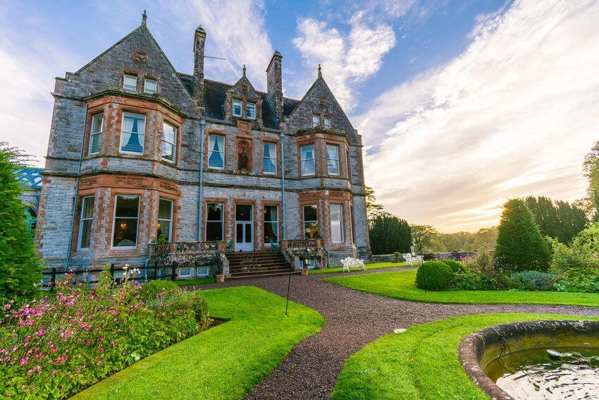 Castle Leslie country house hotels in ireland
