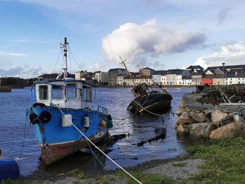 Boats In Galway