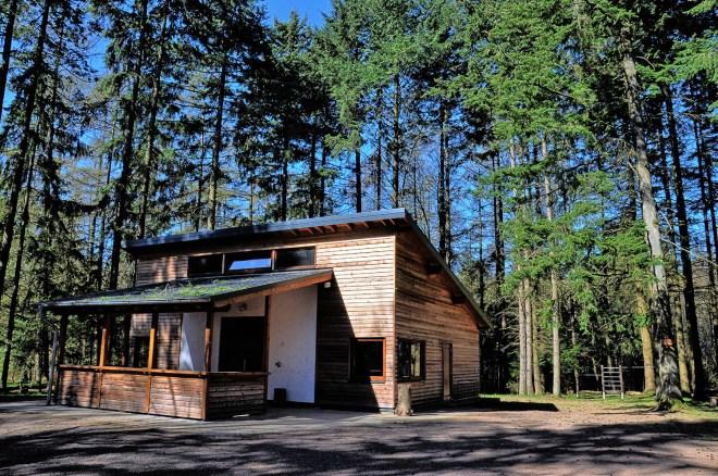 Drei-Eichen-Haus bei Lutzerath  in der Vulkaneichel