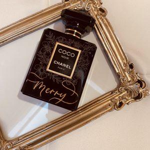 Engraved Chanel Women's Perfume Los Angeles Live Calligrapher