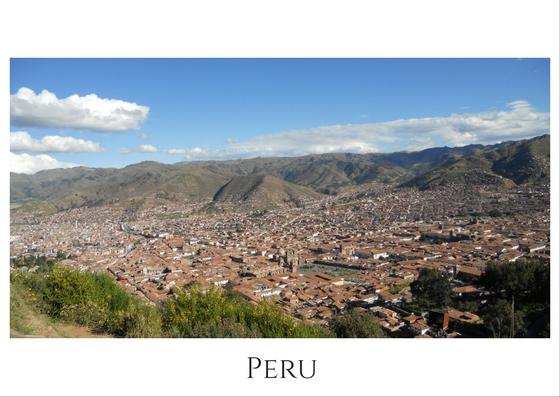 Peru Post Card
