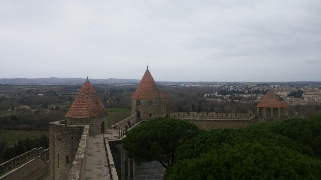 Upper Wall Carcassonne