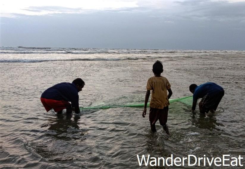 Beach-fishing