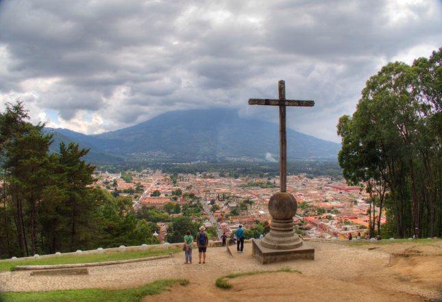 Blick auf Antigua