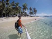 San Blas Inseln, am Strand