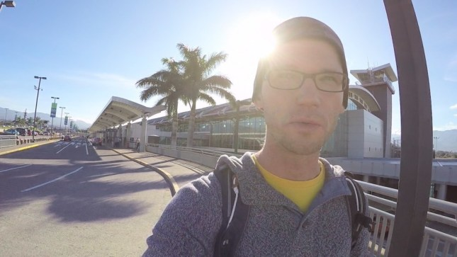 Angekommen am Airport San Jose, Costa Rica