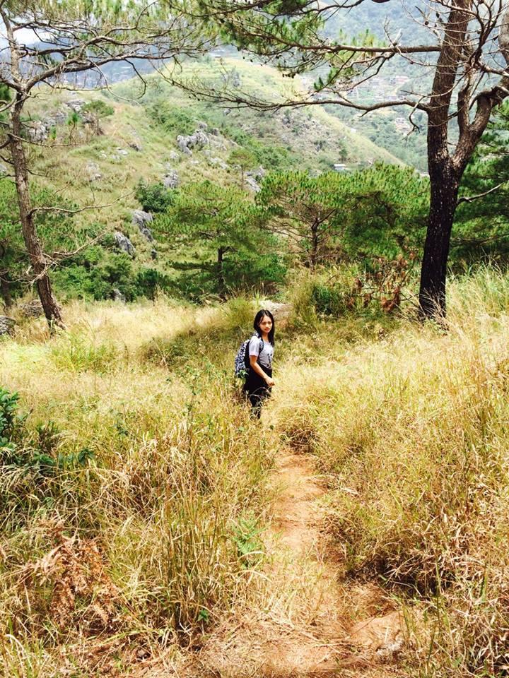 Trail to Tayawan View Deck