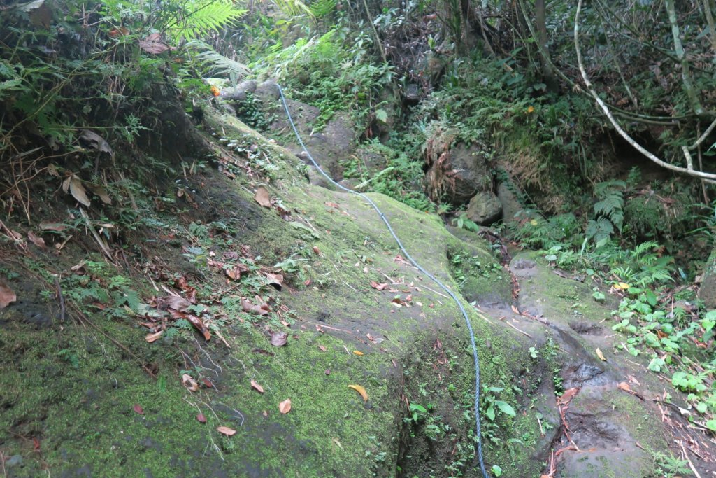 Way up to the Hidden Falls