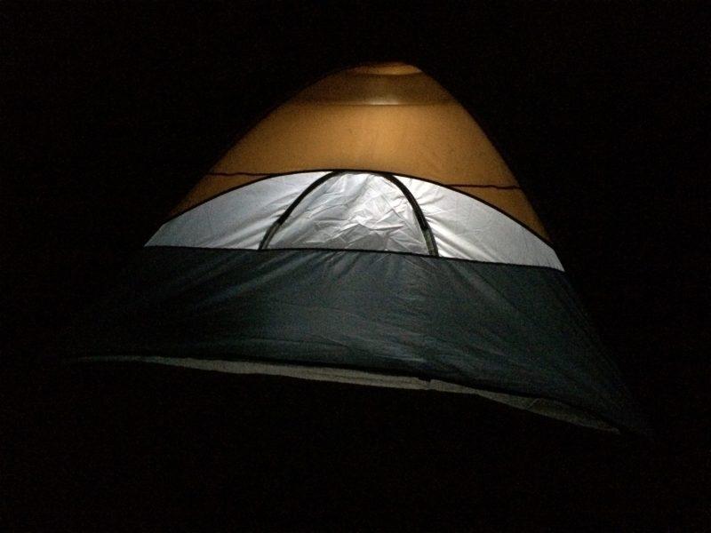camping at Kiltepan Peak