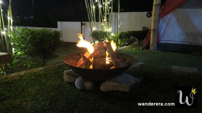 Bonfire at La VeryOl's