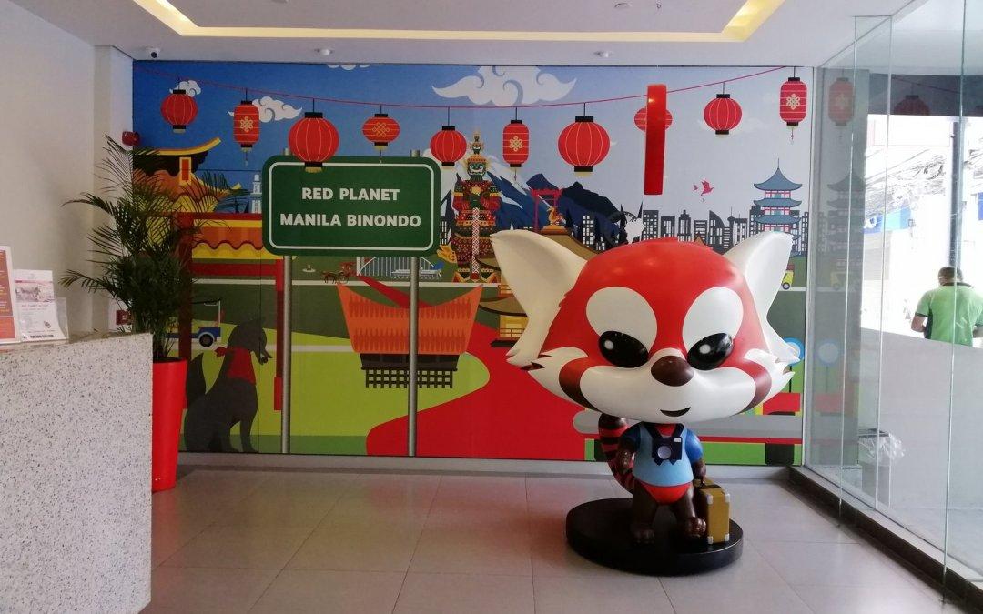 Manila Hotel: Red Planet Binondo Review