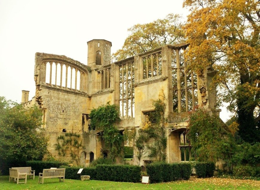 Halloween In A Haunted Castle At Sudeley