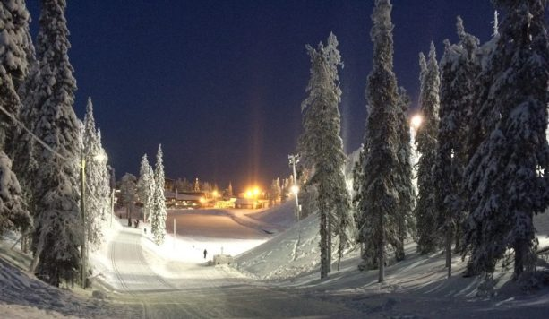 Snowy Finland